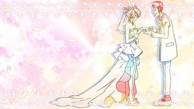 パチスロ 不二子 TYPE A+ RT終了画面 結婚式