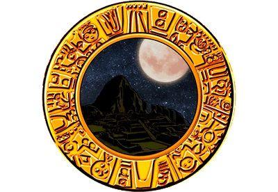 エルインカ~黄金文明~ 夜背景+満月