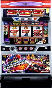 ファンキージャグラー2 筐体画像
